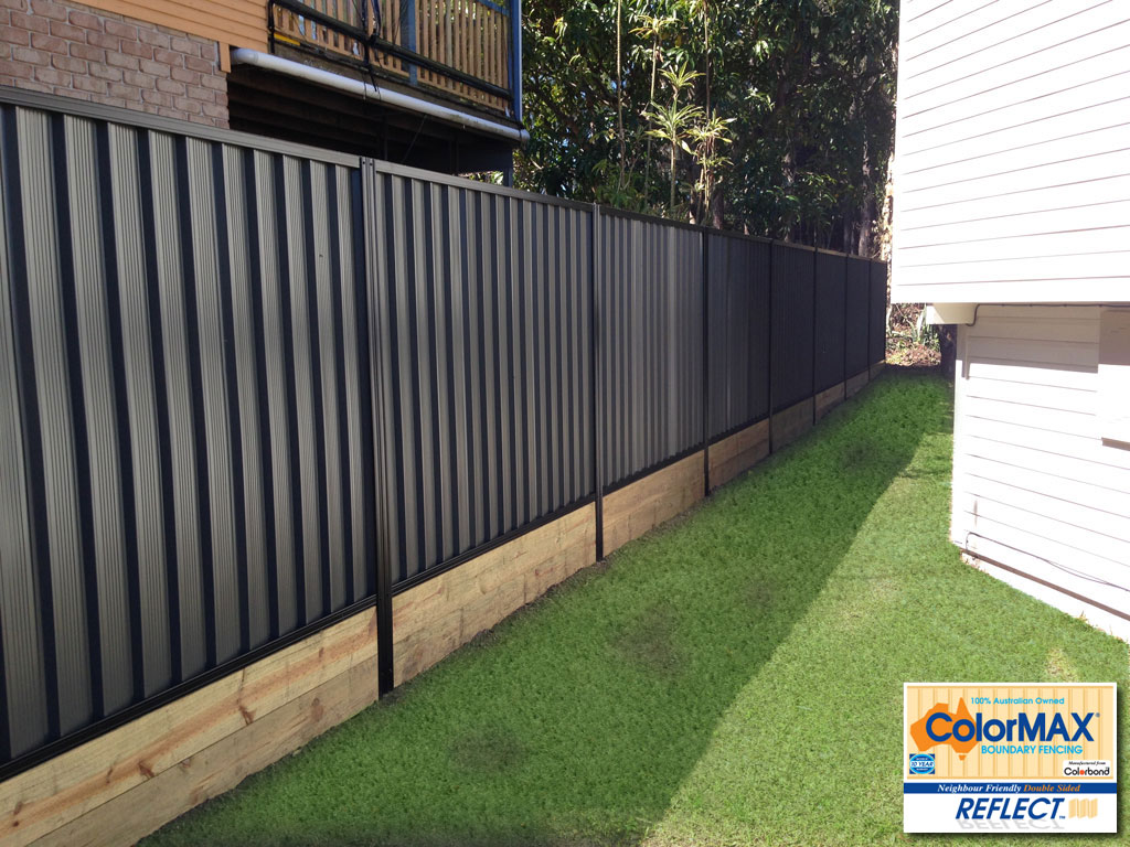 Colorbond 174 Fencing On The Gold Coast Colormax 174 Boundary